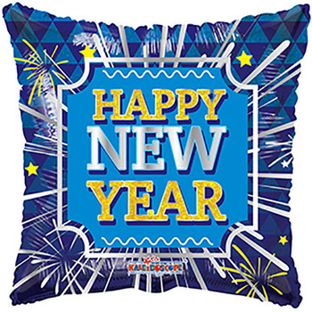 "18""K Happy New Year Square Fireworks (10 count)"