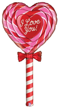 """60""""B I Love You Lollipop Mighty (1 count)"""