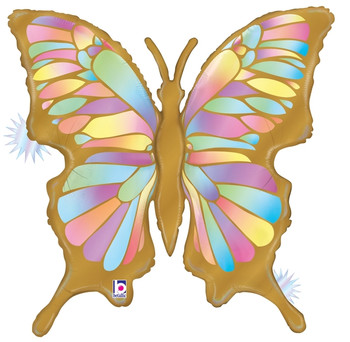 """33""""B Butterfly Opal Holographic Pkg (5 count)"""