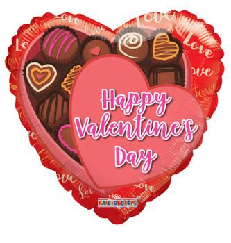 "18""K Happy Valentine's Day Chocolate Box (10 count)"