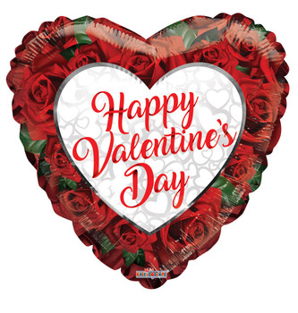 "4""K Happy Valentine's Day Roses (10 count)"