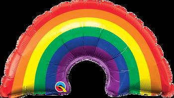"""14""""Q Rainbow Bright (10 count)"""