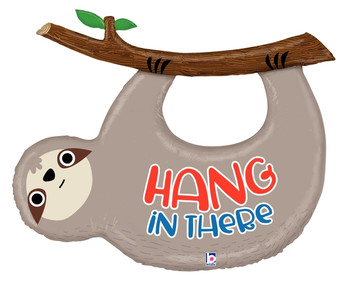"42""B Hang In There Sloth (1 count)"