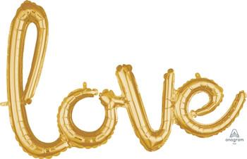 "31""A Script Love Gold (1 count)"