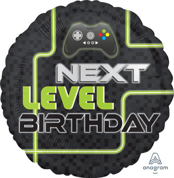 "18""A Birthday Level Up (10 count)"