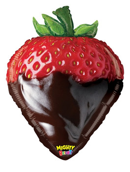 "26""B Strawberry Chocolate Dip Mighty (5 count)"