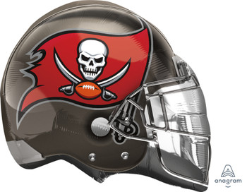 "21""A Sports Football Helmet Tampa Bay Buccaneers (5 count)"