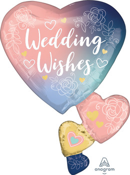 "30""A Wedding Wishes Twilight Lace (5 count)"