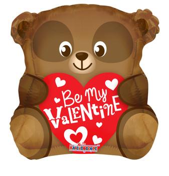 "18""K Be My Valentine Bear Shape (10 count)"