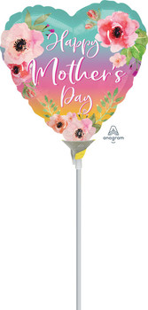 """9""""A Happy Mother's Day Flowers & Ombre (10 count)"""
