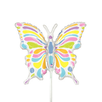 """14""""B Butterfly Pastel (10 count)"""