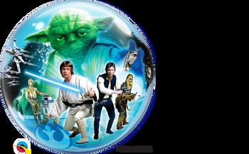 """22""""Q Bubble Star Wars Classic Pkg (1 count)"""