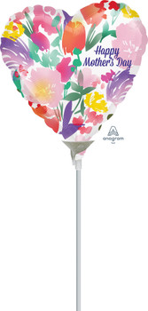 """4""""A Happy Mother's Day Water Color (10 count)"""