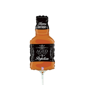 """14""""B Aged to Perfection Whiskey Bottle (10 count)"""