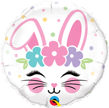 "18""Q Bunny Face (5 count)"