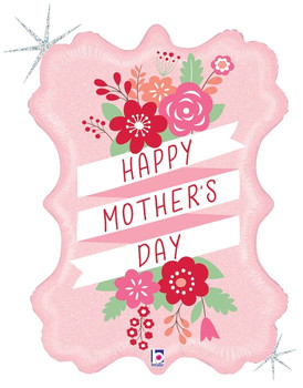"""34""""B  Happy Mother's Day Fresh Floral Pkg (5 count)"""