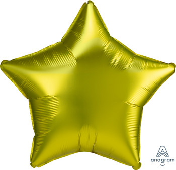 "19""A Star Satin Luxe Lemon (10 count)"
