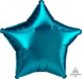 "19""A Star Satin Luxe Aqua (10 count)"
