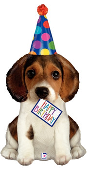"41""B Happy Birthday Puppy Pkg (5 count)"