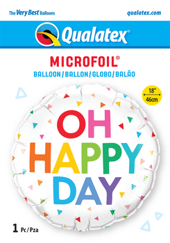 "18""Q Oh Happy Day Pkg (5 count)"