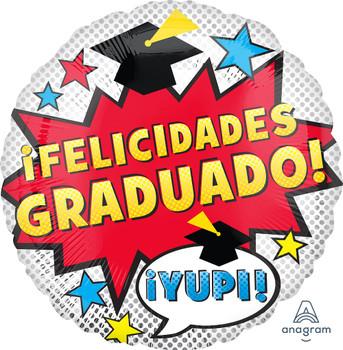 """18""""A Felicidades Graduado Dots (10 count)"""