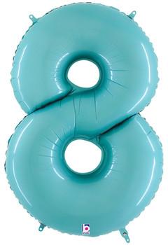 """40""""B Pastel Blue 8 (1 count)"""