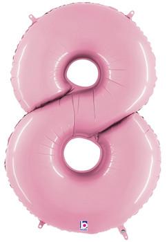 "40""B Pastel Pink 8 (1 count)"