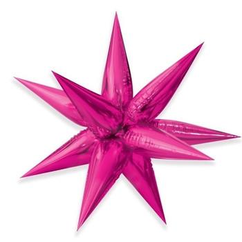 """40"""" Exploding Stars Cluster Fuchsia Pkg (1 count)"""