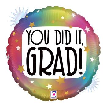 """18""""B You Did It Grad Opal Pkg (5 count)"""