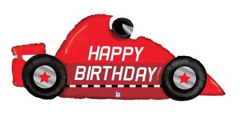 "56""B Happy Birthday Race Car (5 count)"