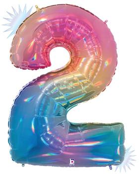 """40""""B Rainbow Opal 2 Pkg (1 count)"""