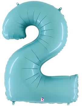 """40""""B Pastel Blue 2 (1 count)"""