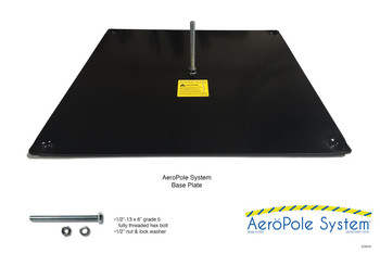 AeroPole System Base Plate (1 plate)*