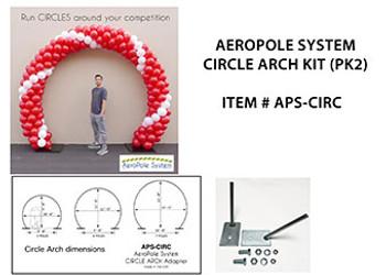 AeroPole System Circle Arch Accessory Kit (1 set)*