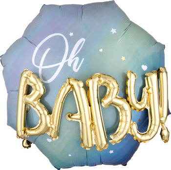 """30""""A Oh Baby Boy Multi Pkg (1 count)"""
