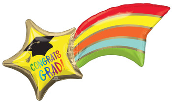 """27""""A Congrats Grad Shooting Star (5 count)"""