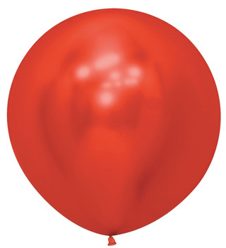 "24""B Reflex Red (10 count)"