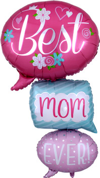 """53""""A Best Mom Ever Multi Pkg (1 count)"""