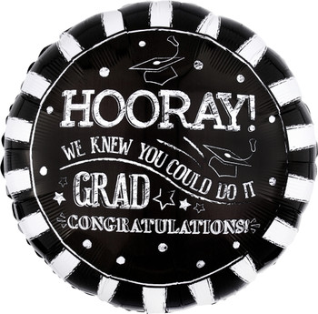 "28""A Hooray Grad Pkg (5 count)"