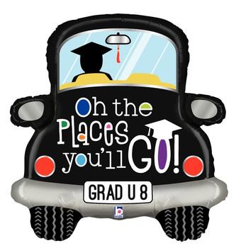 """31""""B Grad Car Places You'll Go Pkg (5 count)"""
