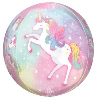 """16""""A Unicorn Enchanted Orbz Pkg (5 count)"""
