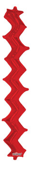 """20""""K Zig Zag Wall Red (5 count)"""