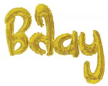 7'K Bday Gold Pkg (1 count)
