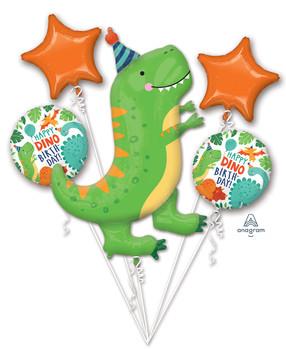 Bouquet Happy Birthday Dinomite Party Pkg (1 count)