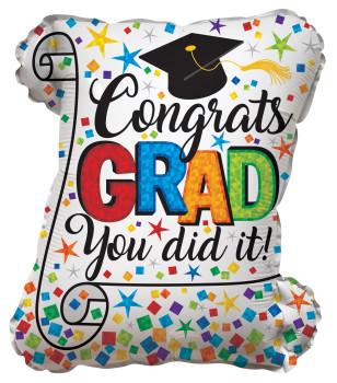"""20""""K Congrats Grad Diploma (10 count)"""