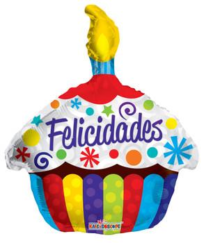 "18""K Felicidades Cupcake (10 count)"