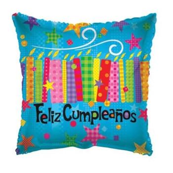 "18""K Feliz Cumpleanos Candles and Textures (10 count)"