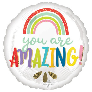 """18""""A You Are Amazing Rainbow Pkg (5 count)"""