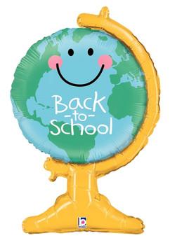"33""B Back to School Globe Pkg (1 count)"