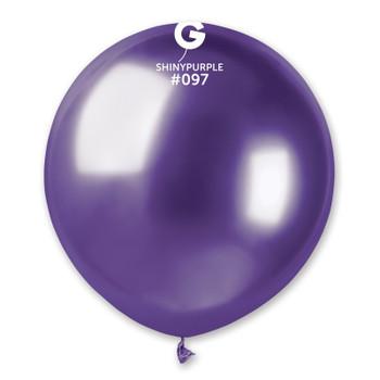 "19""G Shiny Purple #097 (25 count)"